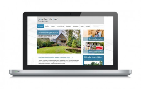 Website Grosche Immobilien